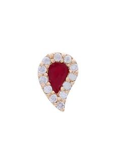 Alison Lou Blood Drop stud earring