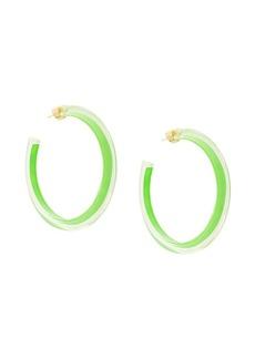 Alison Lou medium jelly hoops