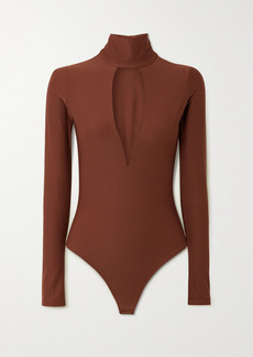ALIX NYC Hewlett Cutout Stretch-jersey Bodysuit
