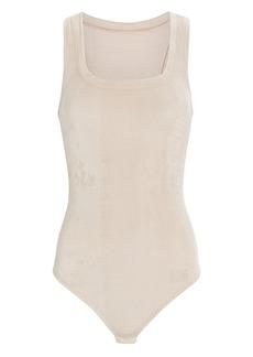 ALIX NYC Mott Sleeveless Velvet Bodysuit