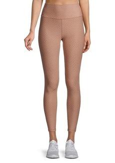 All Fenix Dot-Print Ankle-Length Leggings