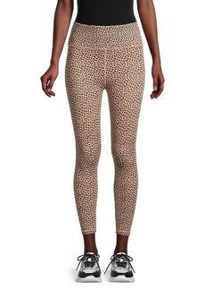 All Fenix High-Waisted Leopard-Print Leggings