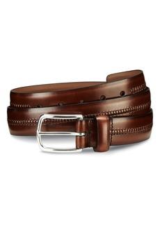 Allen-Edmonds Allen Edmonds Cambridge Ave Leather Belt