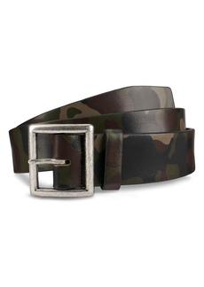 Allen-Edmonds Allen Edmonds Camocliff Avenue Leather Belt