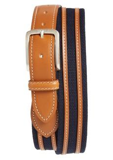 Allen-Edmonds Allen Edmonds Canvas Strap Belt