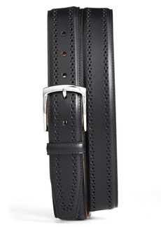 Allen-Edmonds Allen Edmonds Manistee Brogue Leather Belt