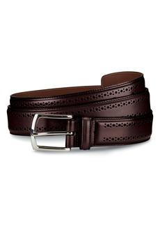 Allen-Edmonds Allen Edmonds Manistee Brogued Leather Belt
