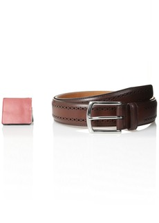 Allen-Edmonds Allen Edmonds Men's Manistee Belt Dark Chili