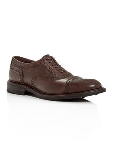 Allen-Edmonds Allen Edmonds Men's Strandmok Brogue Leather Cap-Toe Oxfords