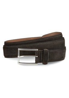 Allen-Edmonds Suede Avenue Leather Belt