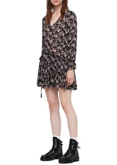 ALLSAINTS Alia Odile Floral Mini Dress