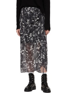 ALLSAINTS Ariya Lisk Midi Skirt