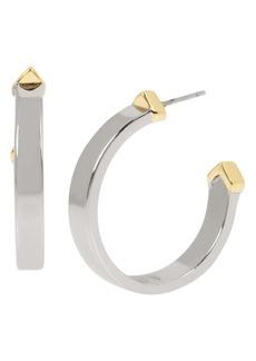 ALLSAINTS Arrow Hoop Earrings