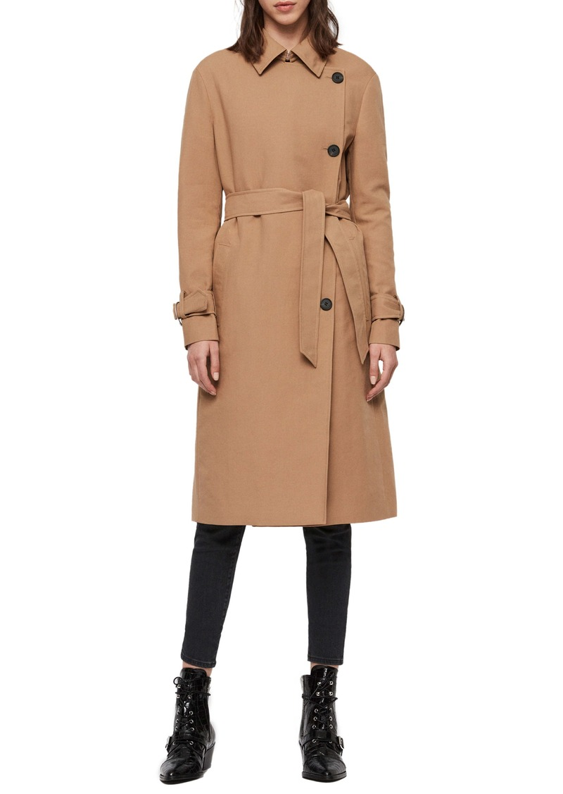 ALLSAINTS Avita Trench Coat