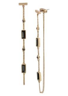 ALLSAINTS Baguette Drop Earrings