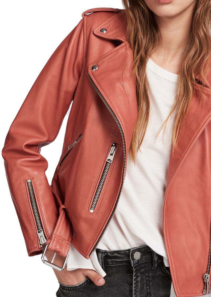 0bb83bcd68d AllSaints ALLSAINTS Balfern Biker Jacket   Outerwear