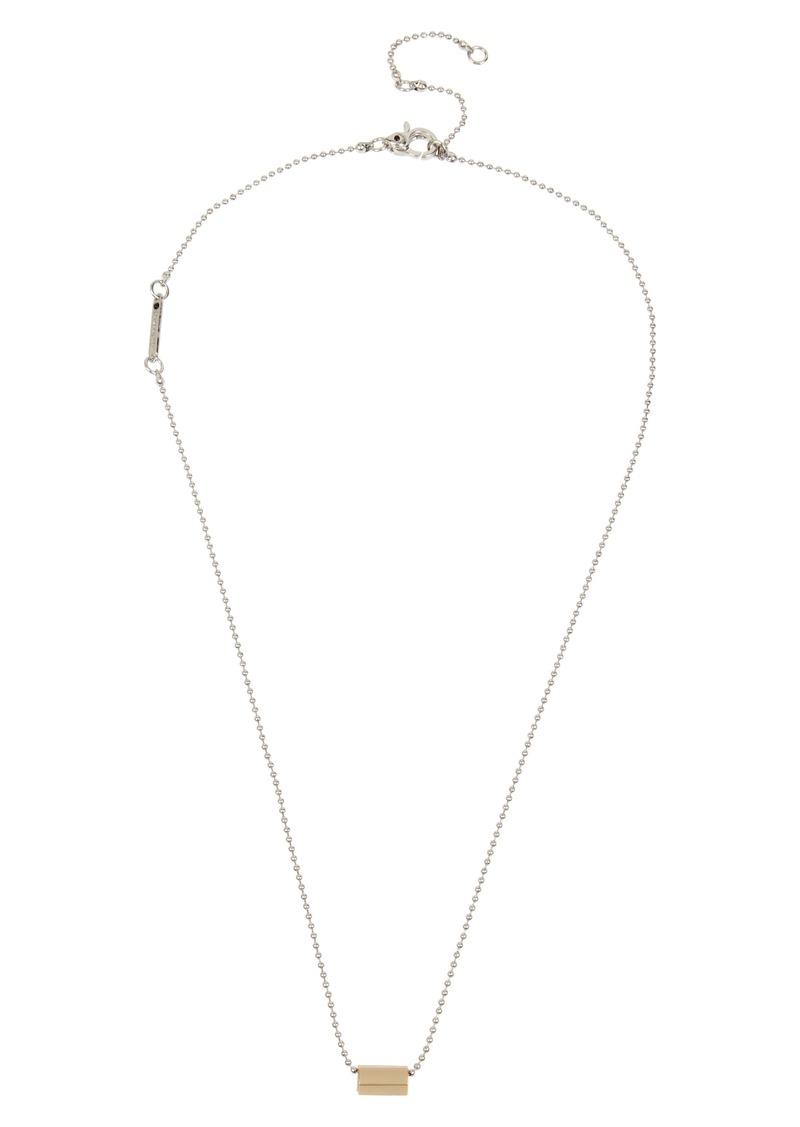 ALLSAINTS Ball Chain Pendant Necklace