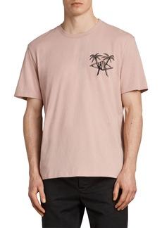 ALLSAINTS Barbed Palm Short Sleeve T-Shirt
