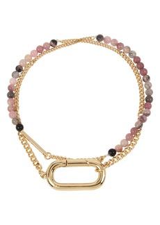 ALLSAINTS Beaded Double Wrap Bracelet