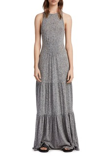 ALLSAINTS Bello Tiered Maxi Dress