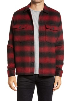 ALLSAINTS Bethune Slim Fit Plaid Shirt Jacket