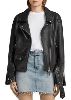 ALLSAINTS Billie Leather Biker Jacket