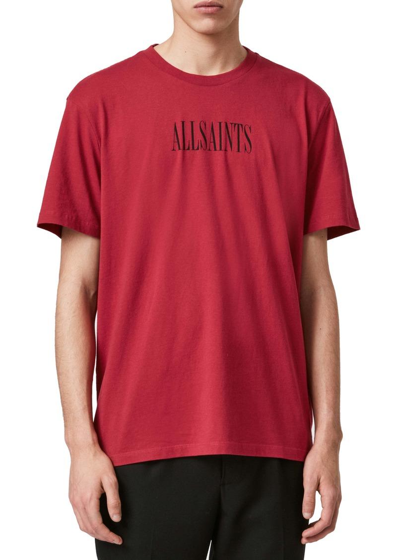 ALLSAINTS Brackets Logo T-Shirt