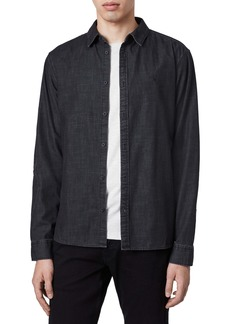 ALLSAINTS Bramston Regular Fit Denim Button-Up Shirt