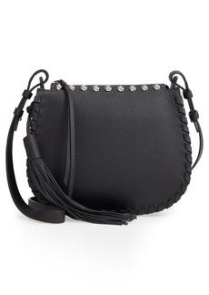 ALLSAINTS Cami Round Leather Crossbody Bag