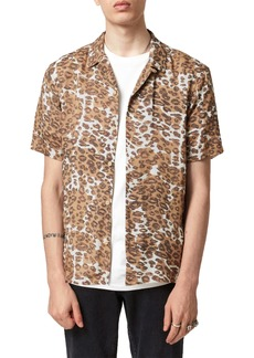 ALLSAINTS Can Tho Short Sleeve Button-Up Camp Shirt