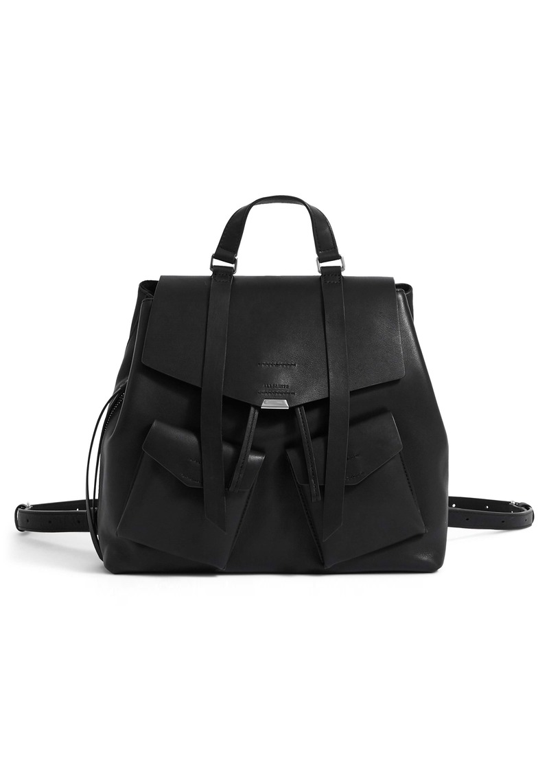 ALLSAINTS Captain Leather Backpack