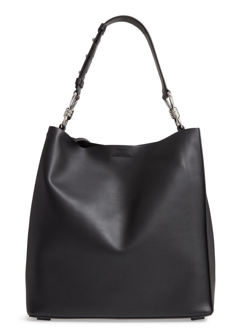 ALLSAINTS Captain Leather Tote