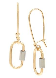 ALLSAINTS Carabiner Drop Earrings