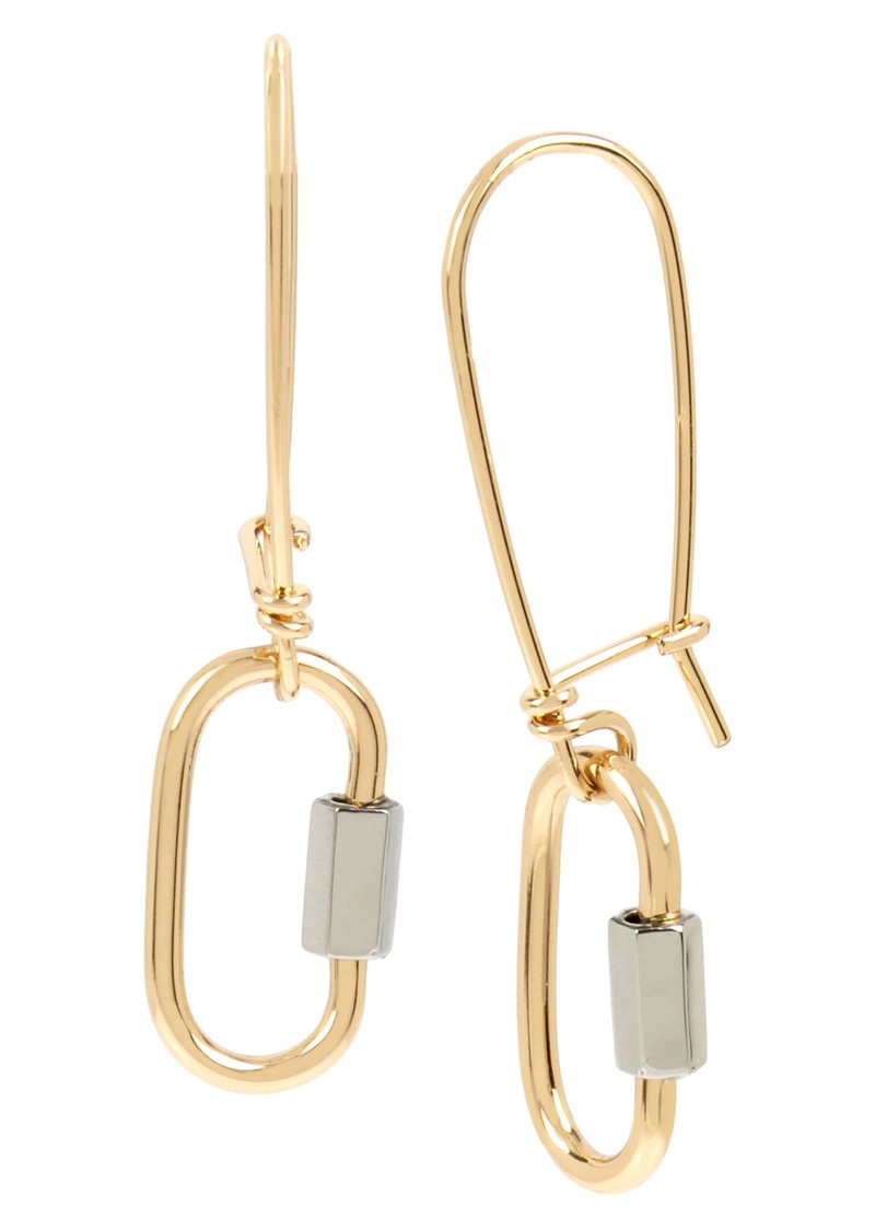 ALLSAINTS Carabiner Drop Earrings