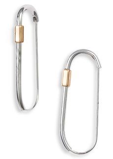 ALLSAINTS Carabiner Hoop Earrings