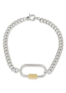 ALLSAINTS Carabiner Link Bracelet