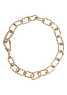 AllSaints Carabiner Link Collar Necklace