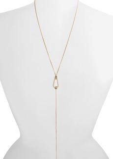AllSaints Carabiner Y-Necklace