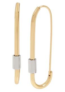ALLSAINTS Caribiner Hoop Earrings