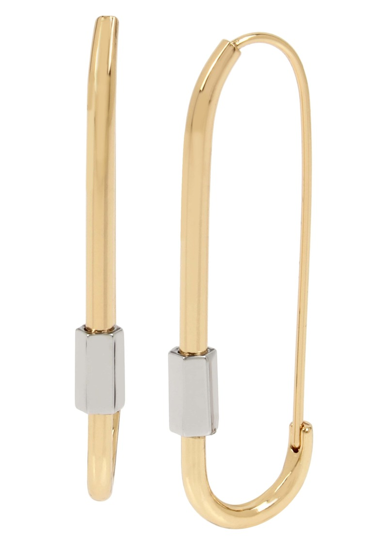 ALLSAINTS Caribiner Hoop Earrings