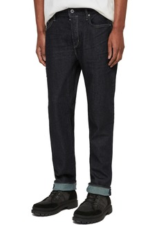 ALLSAINTS Carter Slim Fit Jeans (Dark Indigo Blue)