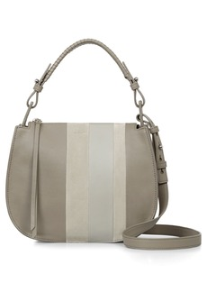 ALLSAINTS Casey Lea Calfskin Leather & Suede Hobo