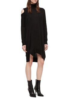 ALLSAINTS Cecily Turtleneck Sweater Dress