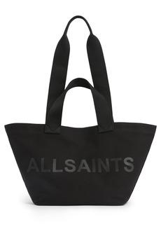 Allsaints Celeste Clarendon Canvas Tote - Black
