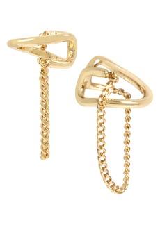 ALLSAINTS Chain Ear Cuffs