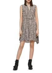 ALLSAINTS Clari Kara Leopard Print Dress