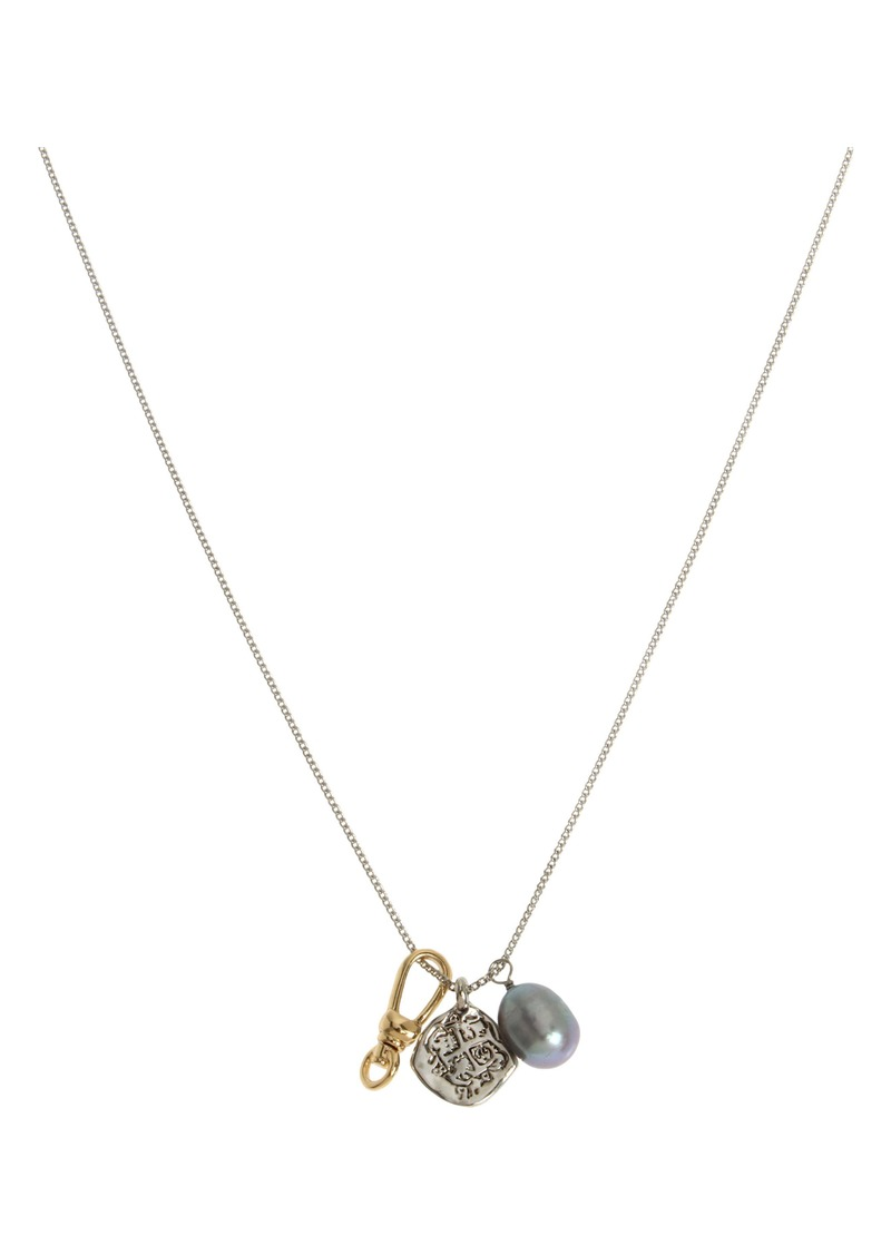 ALLSAINTS Cluster Charm Necklace