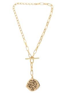 ALLSAINTS Coin Y-Necklace