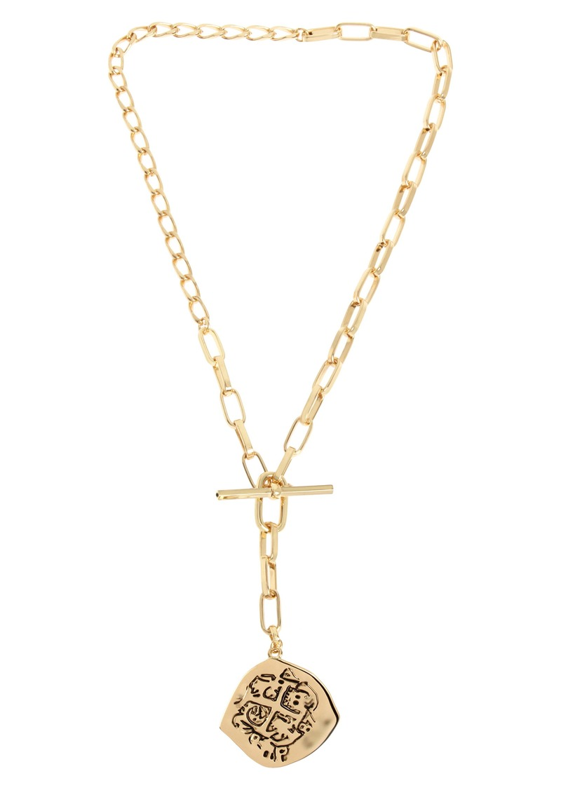 ALLSAINTS Coin Y-Necklace