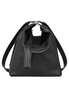 ALLSAINTS Cooper Lea Calfskin Leather Backpack